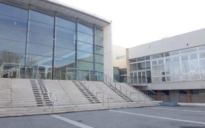 Livraison d'une Nacelle ESCA3000 au Parc Chanot, Parc des Expositions de Marseille